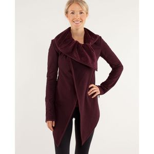 LULULEMON Bordeaux Presence of Mind Jacket